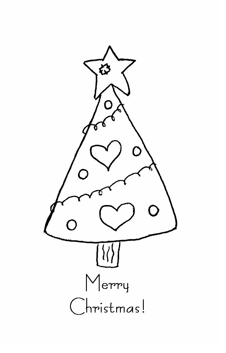 Christmas Tree Doodle Version