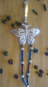 Butterfly Lanyard/Keyclip