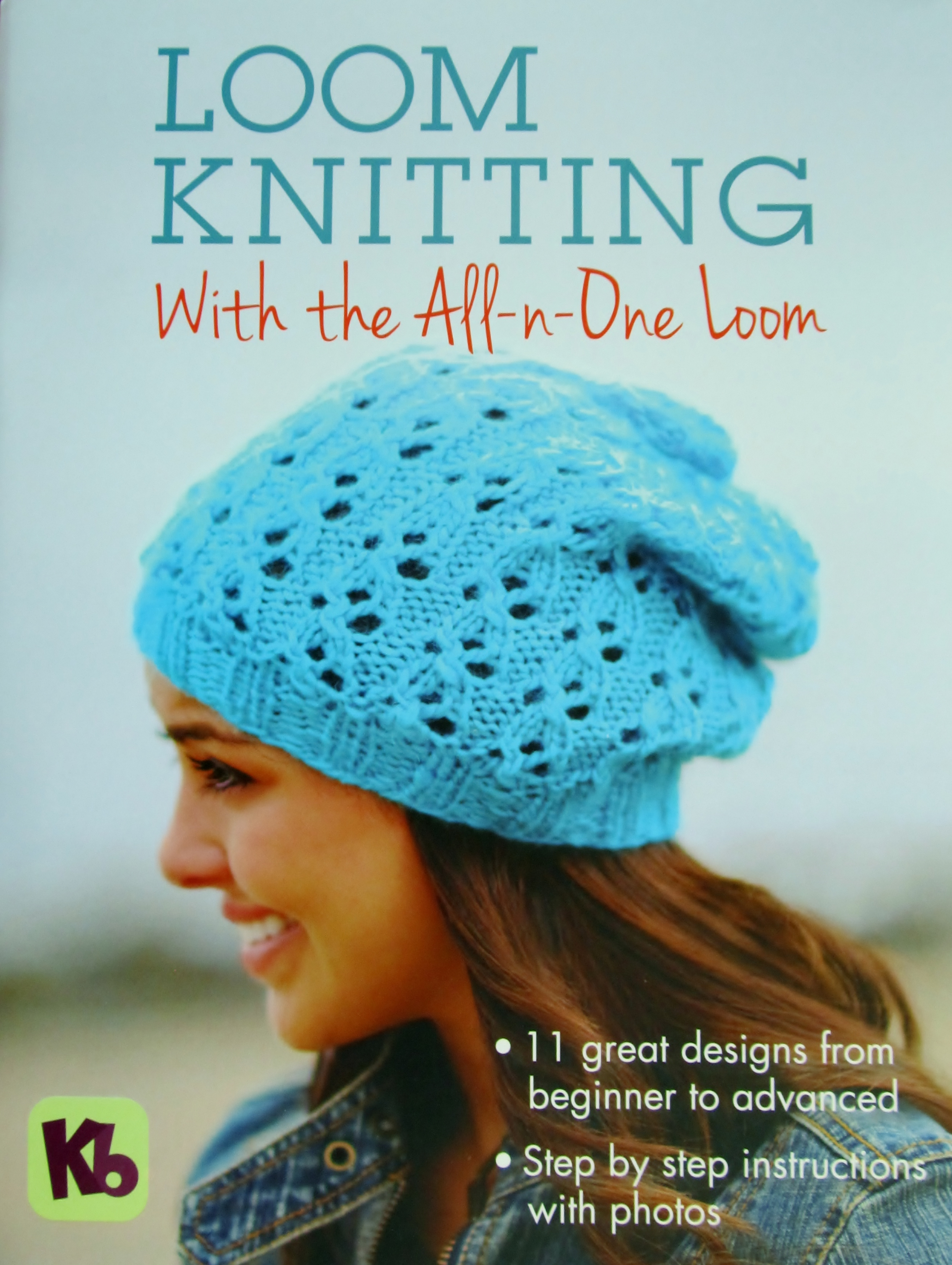 Knitting Loom Ideas : Loom knitting with the all n one book guppygirl